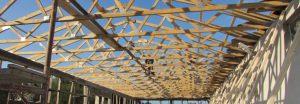 drveni binderi , krovne rešetke , rešetkaste konstrukcije od drveta i čelika veliki raspon
