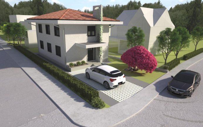 projekat porodične kuće